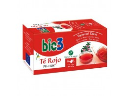Bio3 te rojo ecológico 25 bolsitas